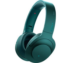 SONY MDR100ABNL Wireless Bluetooth Noise-Cancelling Headphones - Blue