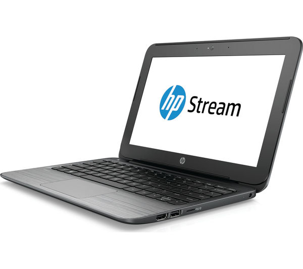 "Image of HP Stream 11-r052na 11.6"" Laptop - Grey"