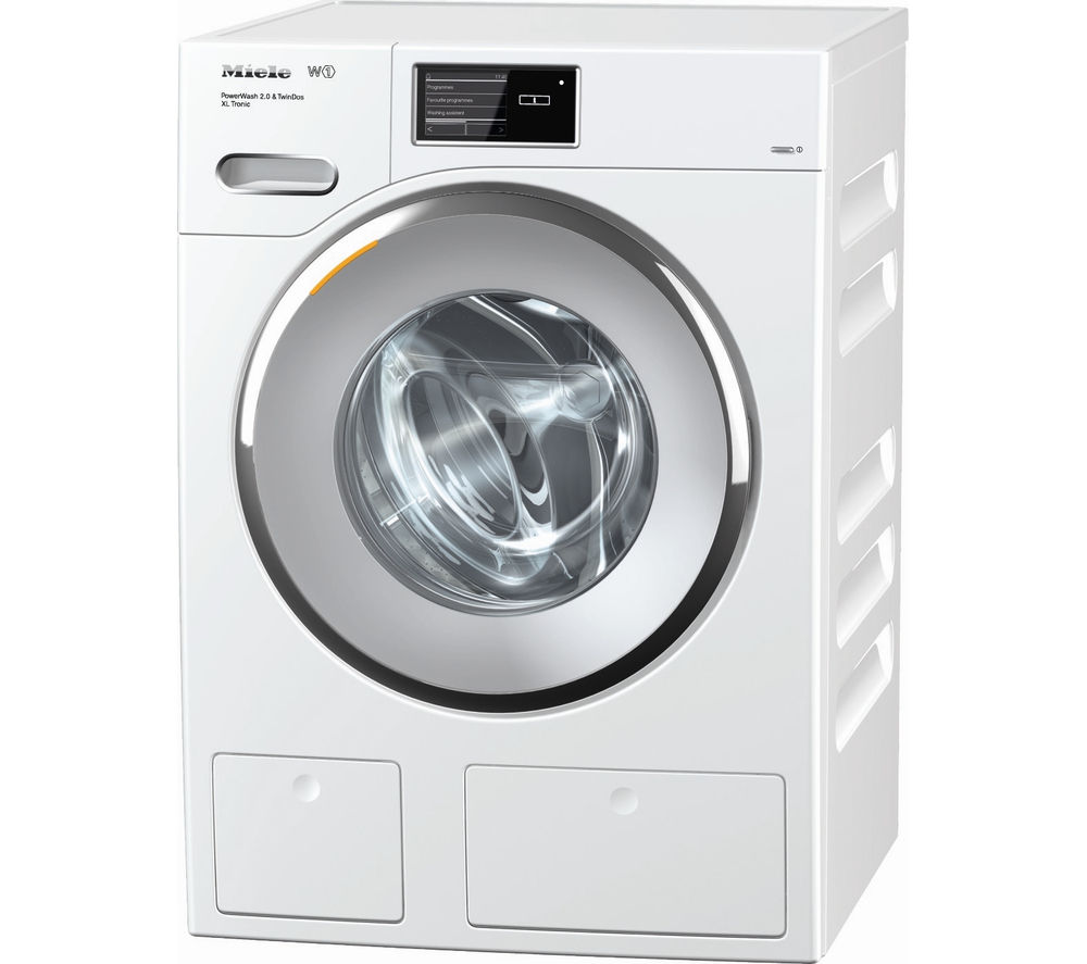 buy miele wmv960wps washing machine white free delivery currys. Black Bedroom Furniture Sets. Home Design Ideas