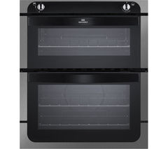 NEW WLD NW701G Gas Built-under Oven - Black & Stainless Steel