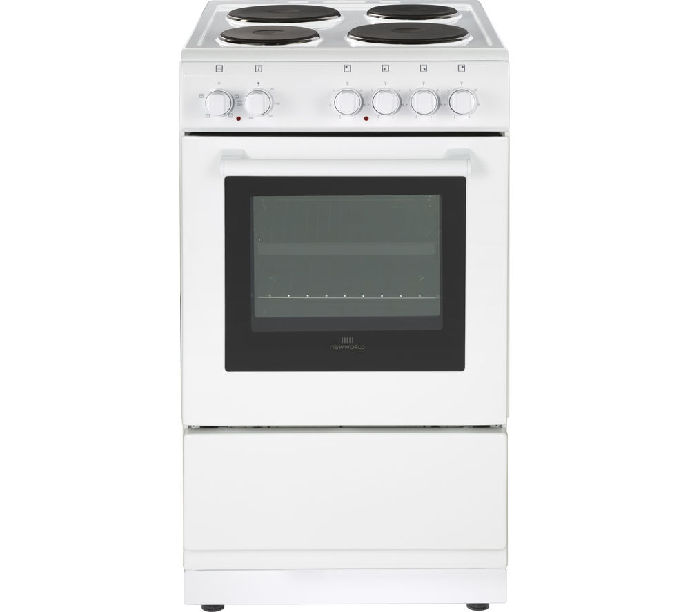 NEW WORLD NW550ES 50 cm Electric Cooker - White