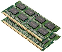 PNY PC3-12800L DDR3 Laptop Memory - 4 GB SODIMM RAM, 2-Module Kit