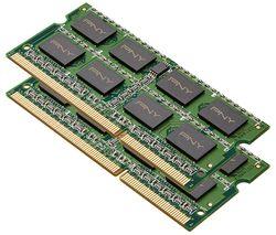 PNY PC3-12800L DDR3 Laptop Memory - 4 GB SODIMM RAM, 2-Module Kit
