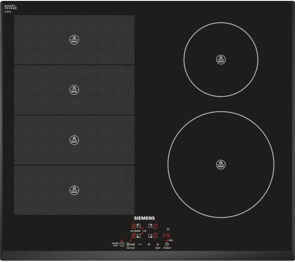 SIEMENS iQ700 EH651BN17E Electric Induction Hob - Black