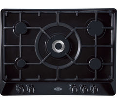 BELLING GHU70GC Gas Hob - Black