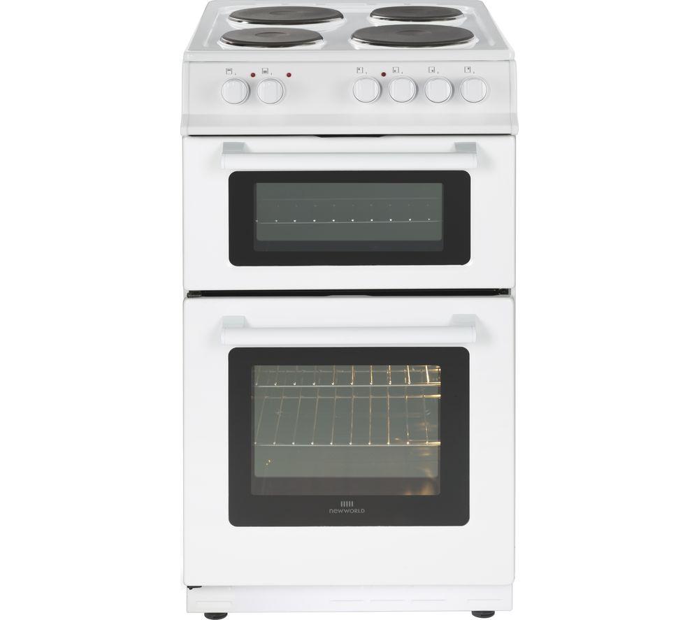 NEW WORLD 50ET 50 cm Electric Cooker - White