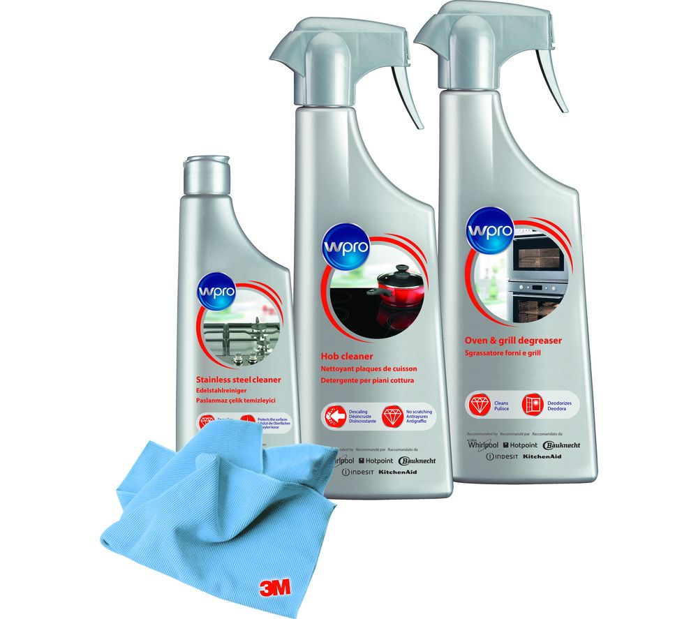 WPRO Ceramic Hob & Oven Care Kit