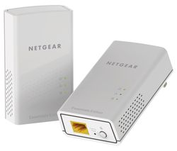 NETGEAR PL1000 Powerline Adapter Kit - Twin Pack