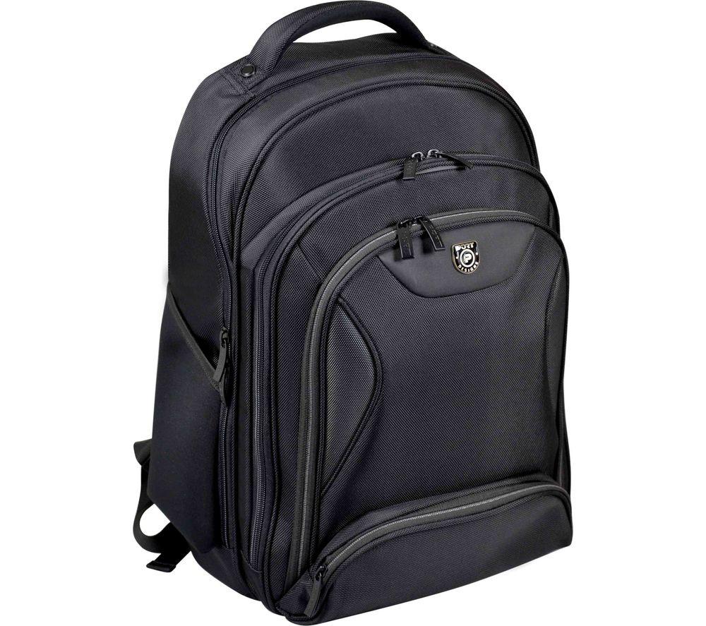 """PORT DESIGNS Sydney 15.6"""" Laptop Backpack - Black"""