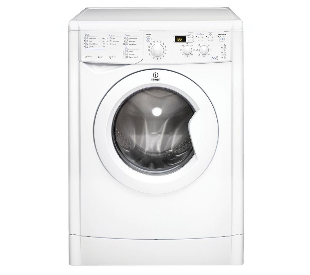 Image of INDESIT IWDD7143 Washer Dryer - White, White