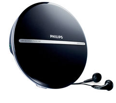 PHILIPS EXP2546/12 Personal CD Player - Black
