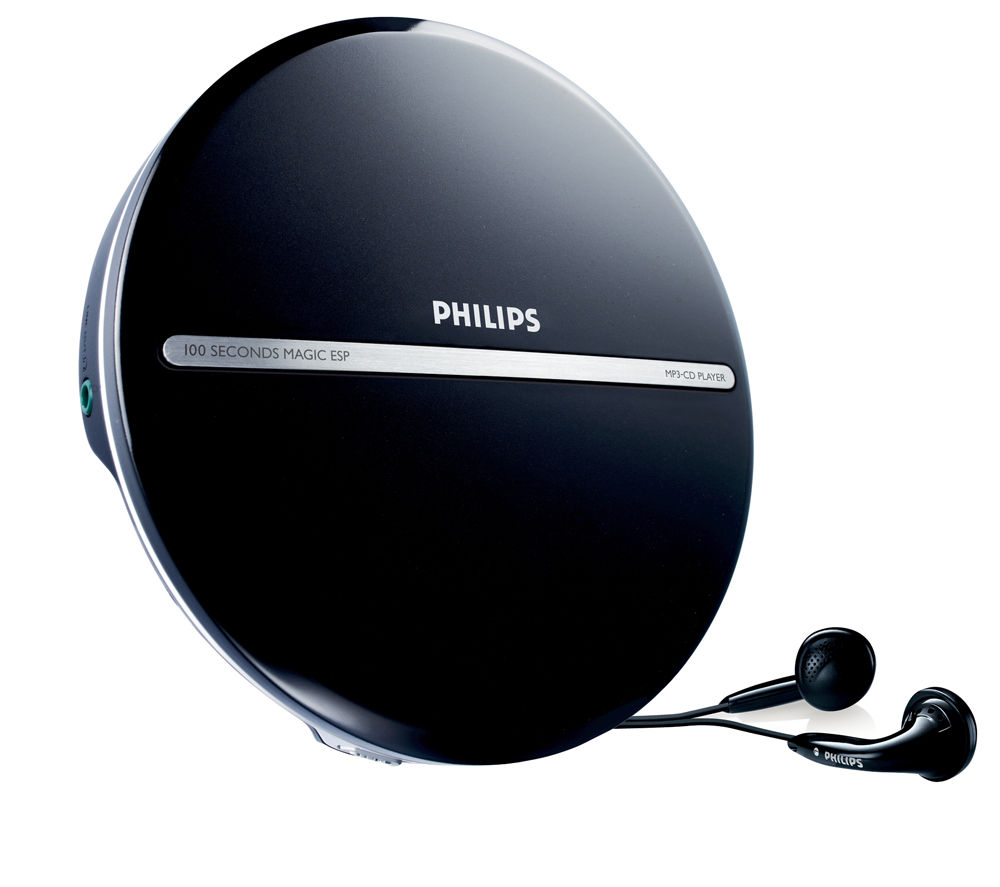 philips exp2546 12 personal cd player black deals pc world. Black Bedroom Furniture Sets. Home Design Ideas