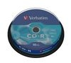 VERBATIM 52x Speed CD-R Blank CDs - Pack of 10