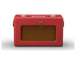 ROBERTS Revival RD60 Portable DAB Radio - Red