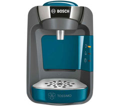 BOSCH Tassimo Suny TAS3205GB Hot Drinks Machine - Pacific Blue