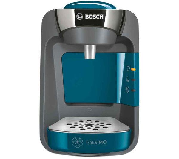 buy bosch tassimo suny tas3205gb hot drinks machine pacific blue free delivery currys. Black Bedroom Furniture Sets. Home Design Ideas