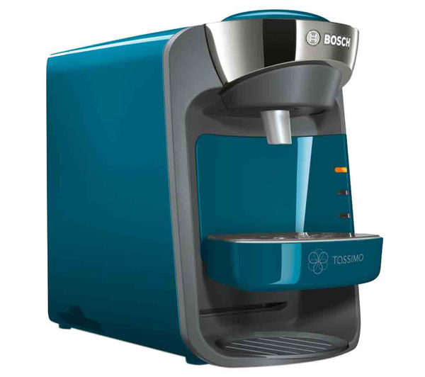 Buy TASSIMO by Bosch Suny TAS3205GB Hot Drinks Machine - Pacific Blue Free Delivery Currys