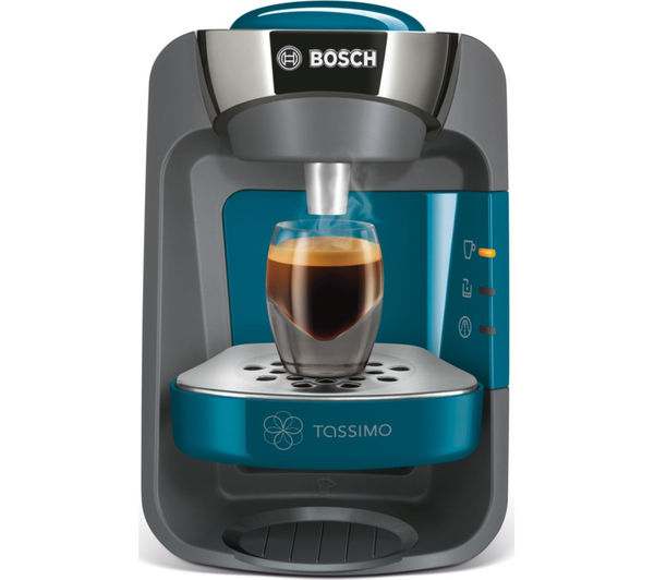 buy tassimo by bosch suny tas3205gb hot drinks machine pacific blue free delivery currys. Black Bedroom Furniture Sets. Home Design Ideas