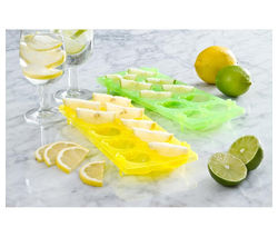 EDDINGTONS Ice 'N' Slice Trays - Yellow & Green