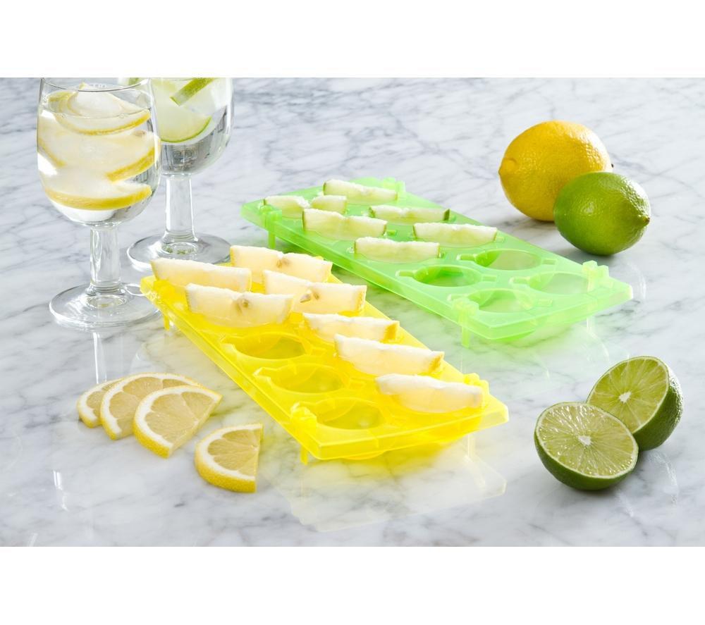 EDDINGTONS Ice 'N' Slice Trays - Yellow & Green