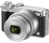 NIKON 1 J5 Compact System Camera with NIKKOR 10-30 mm f/3.5-5.6 VR Zoom Lens - Silver