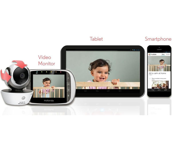buy motorola mbp853 connect wireless baby monitor free delivery currys. Black Bedroom Furniture Sets. Home Design Ideas
