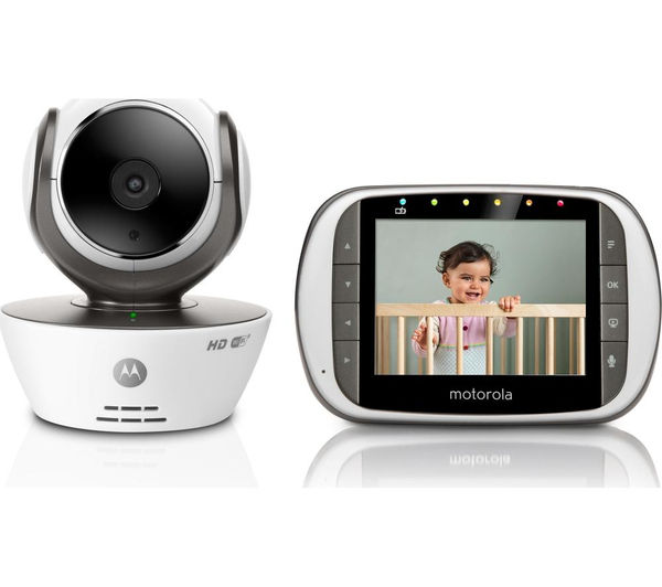 408910400001 motorola mbp853 connect wireless baby monitor currys pc world business. Black Bedroom Furniture Sets. Home Design Ideas