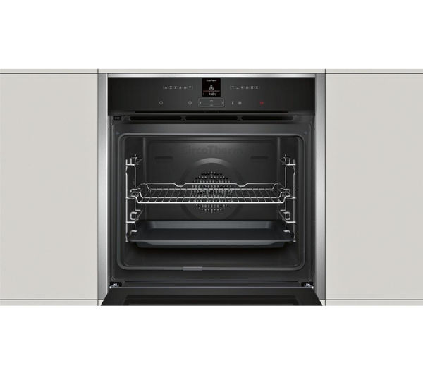Buy neff b27cr22n1b electric oven stainless steel free delivery currys - Neff electric ...
