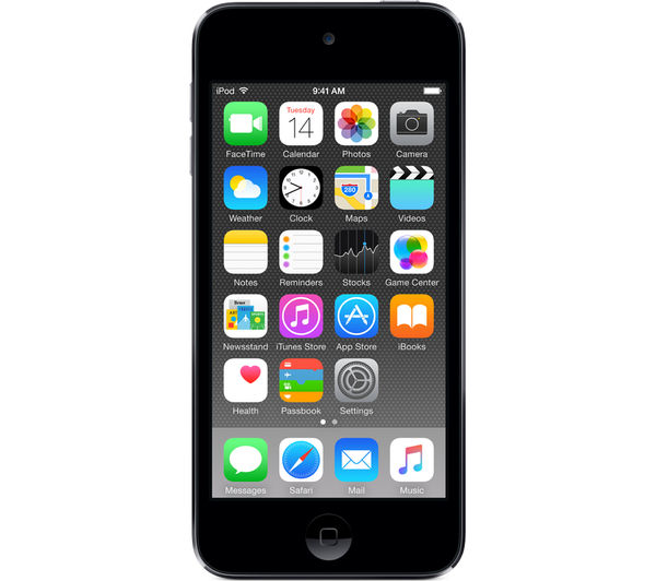 Image of APPLE iPod touch - 64 GB, 6th Generation, Space Grey