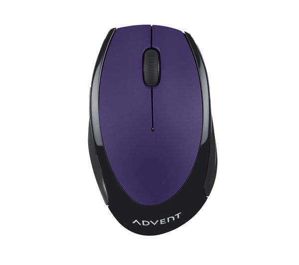 Image of ADVENT AMWLPP15 Wireless Optical Mouse - Purple