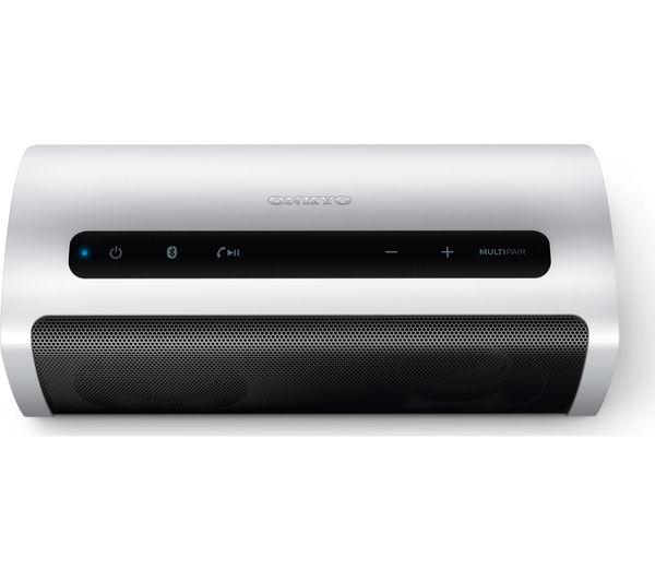 Image of ONKYO X6 Portable Wireless Speaker - Silver