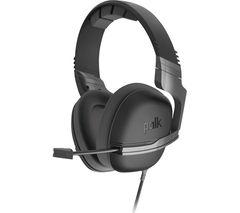 POLK Striker P1 Gaming Headset - Grey
