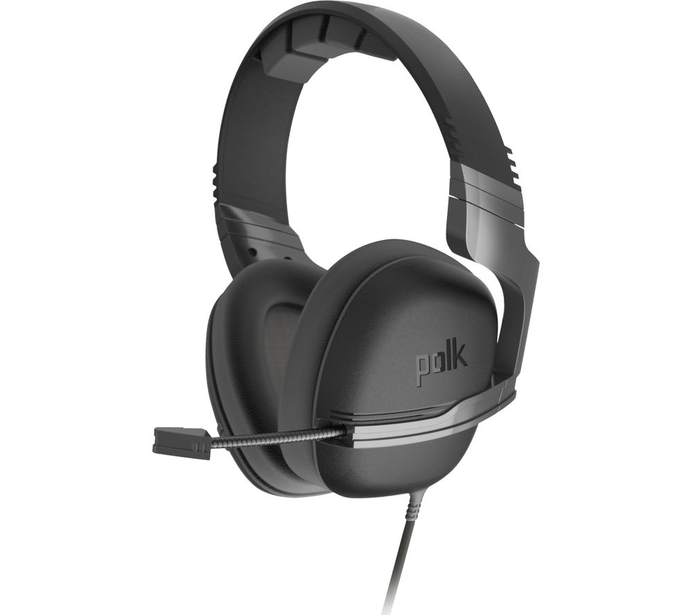 POLK Striker P1 Gaming Headset - Grey