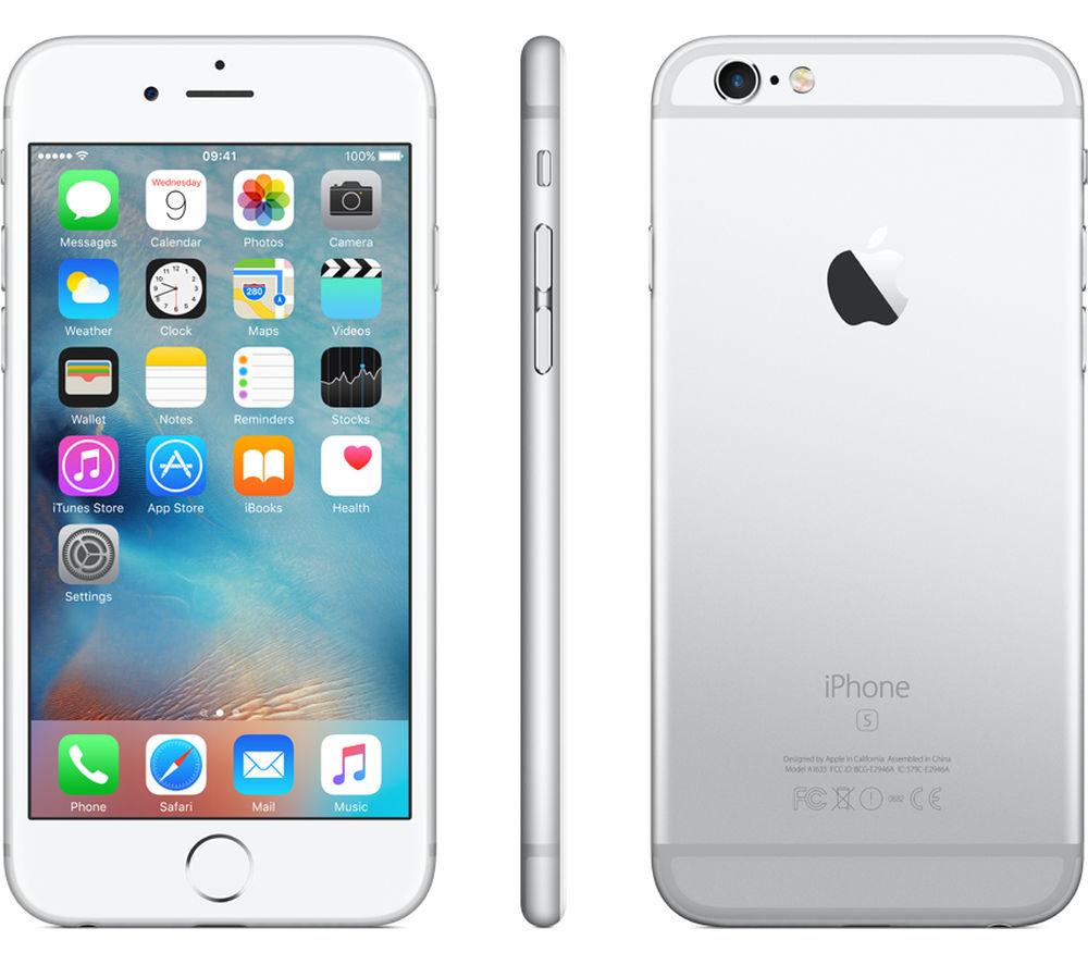 APPLE iPhone 6s - 16 GB, Silver