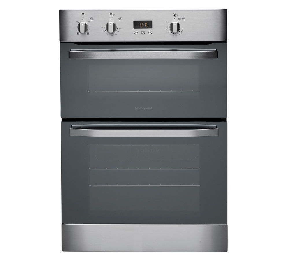 Double Ovens Electric ~ Buy hotpoint dhs xs electric double oven stainless
