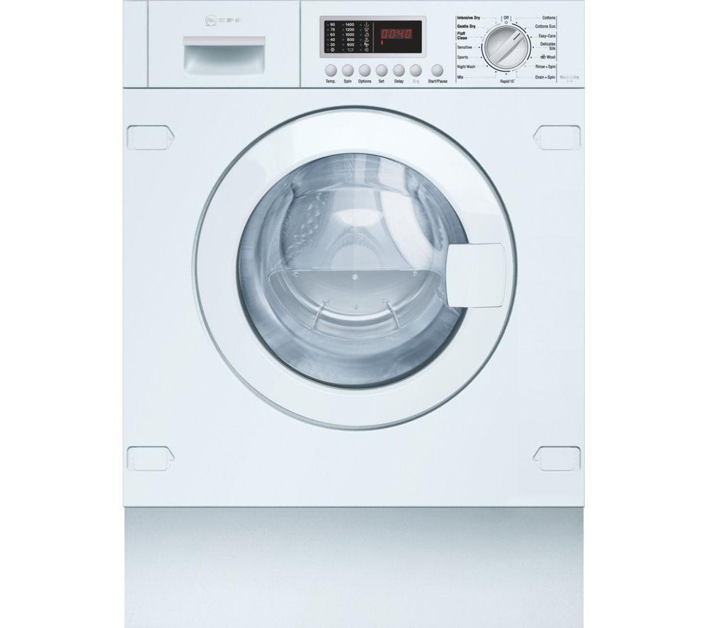 NEFF V6540X1GB Integrated Washer Dryer - White