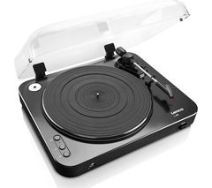 LENCO L-85 Turntable - USB, Black