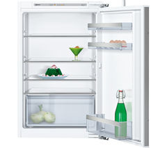NEFF KI1212F30G Integrated Fridge - White