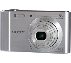 SONY W800 Compact Camera - Silver