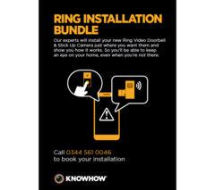 KNOWHOW Ring Doorbell & Camera Installation
