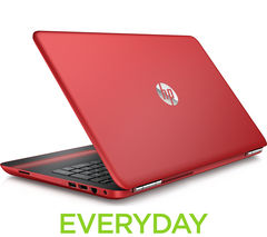 "HP Pavilion 15-au069sa 15.6"" Laptop - Red"