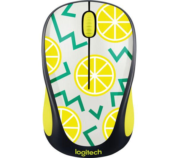 Image of LOGITECH Lemon M238 Wireless Optical Touch Mouse - Yellow & Black