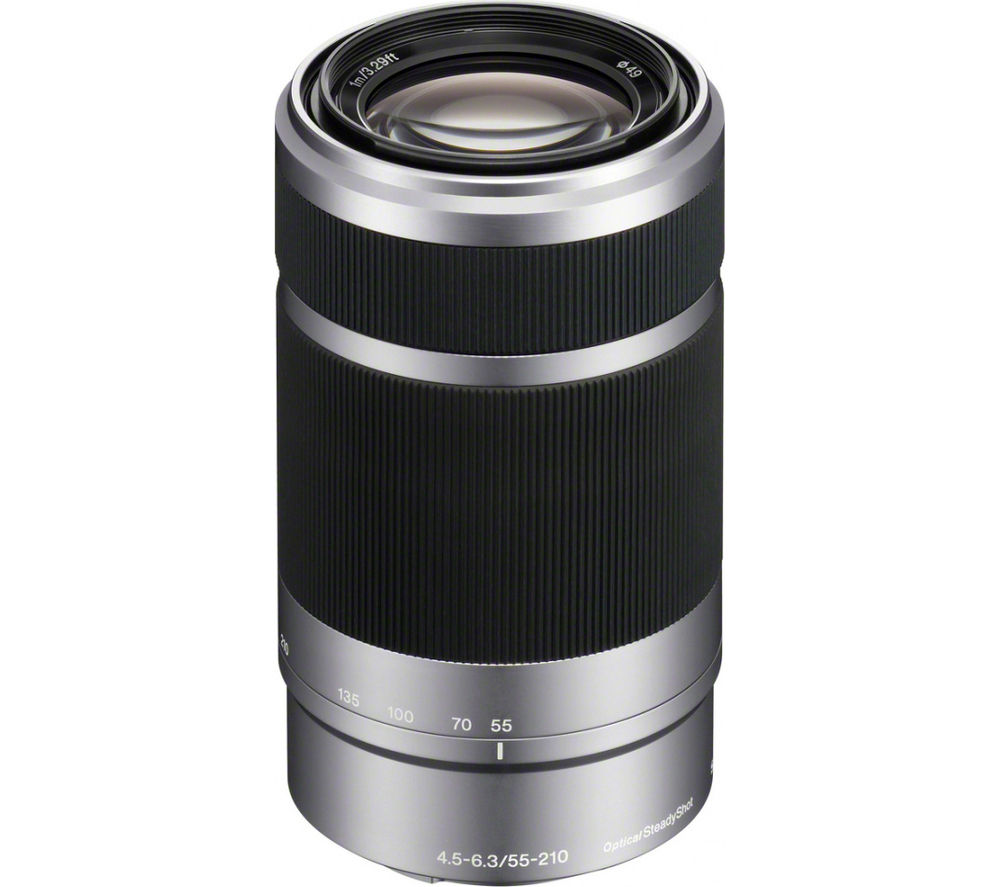 Sony E 55-210 mm f/4.5-6.3 OSS Telephoto Zoom Lens