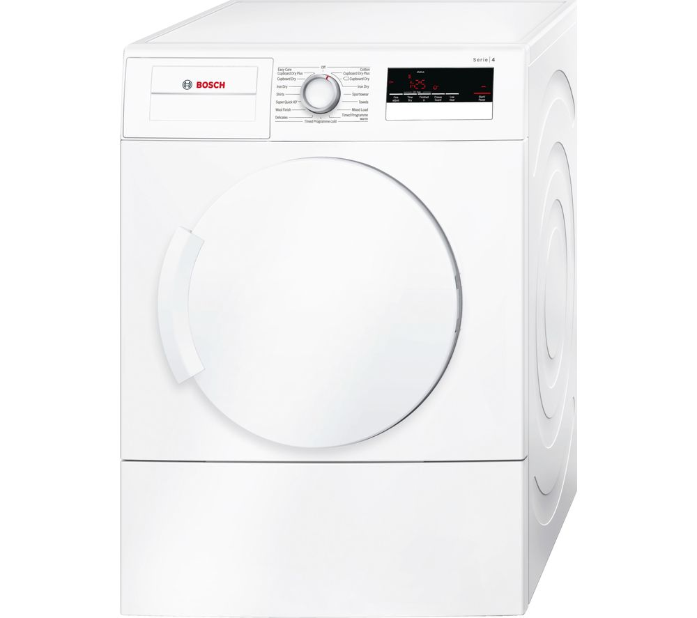 BOSCH WTA79200GB Vented Tumble Dryer - White