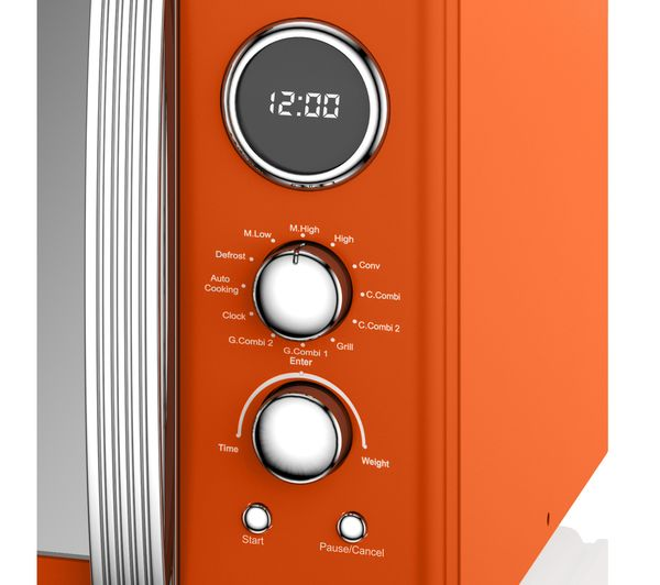 orange microwave for sale
