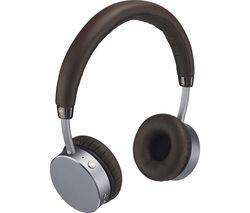 GOJI GTCONMO17 Premium Wireless Bluetooth Headphones - Mocha