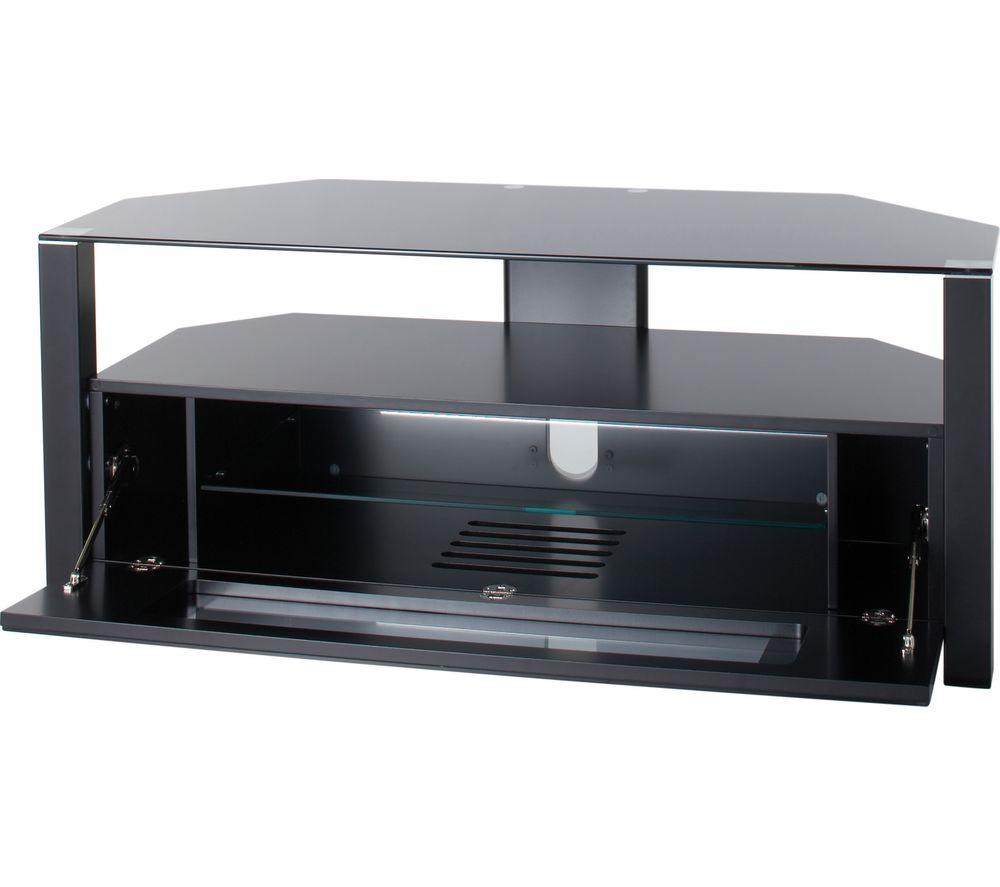 Image of ALPHASON Ambri 1100 TV Stand - Black, Black