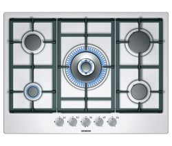 SIEMENS iQ300 EC715RB90E Gas Hob - Stainless Steel