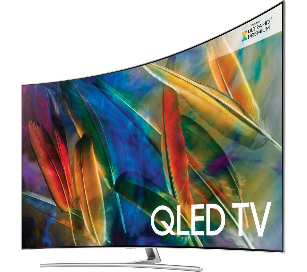 "Image of 55"" SAMSUNG QE55Q8CAMT Smart 4K Ultra HD HDR Curved Q LED TV"