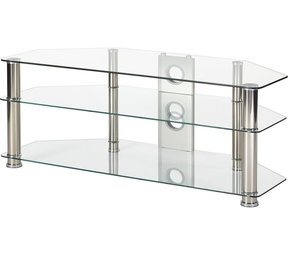 MMT Rome P5CCH1250 TV Stand - Glass
